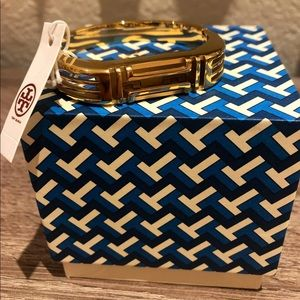 NWT Tory Burch Gold Fitbit Flex